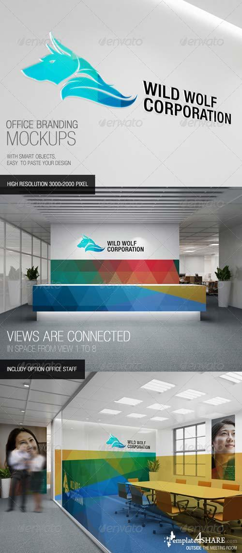 GraphicRiver Office Branding Mockups