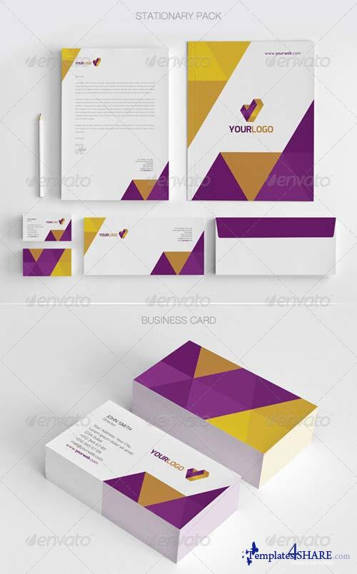 GraphicRiver Modern Stationary Pack - 01