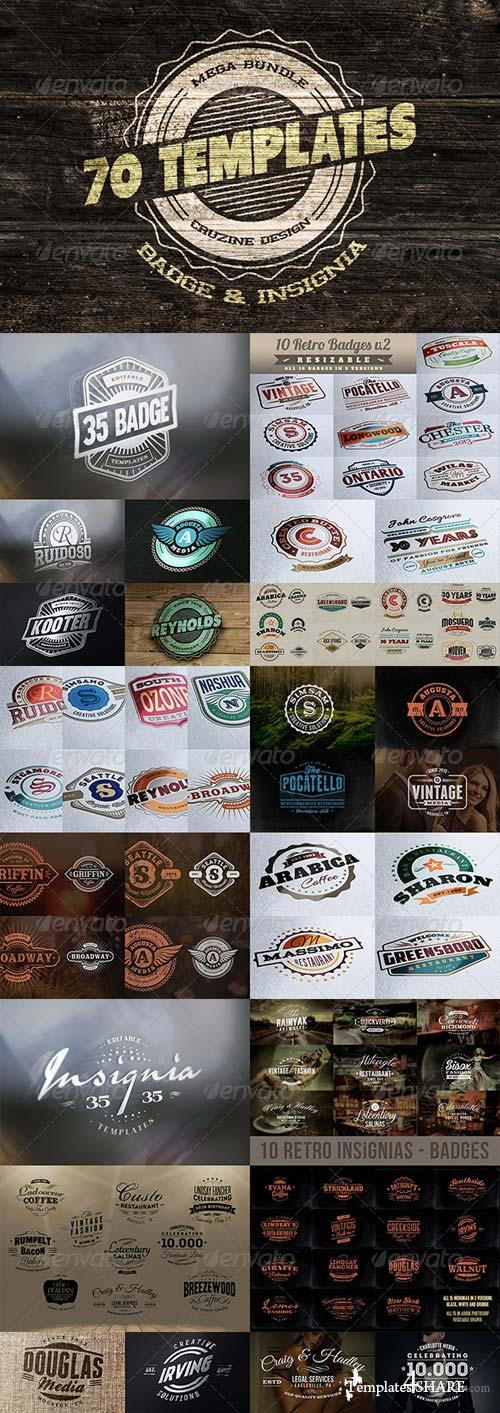 GraphicRiver Logo / Badge / Insignia Templates Bundle
