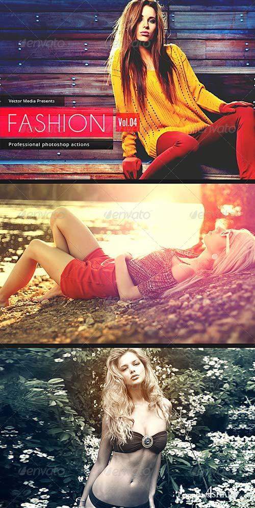 GraphicRiver Fashion - Photoshop Actions [Vol.4]
