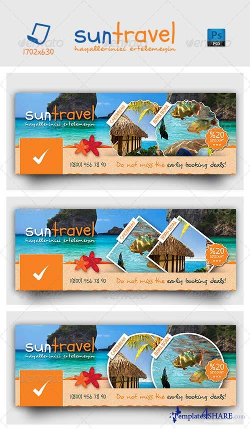 GraphicRiver Travel Tours Face Timeline Templates