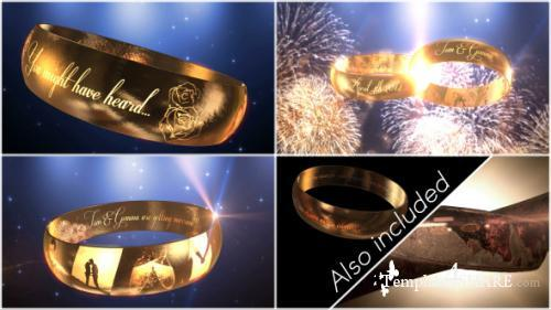 Wedding Ring Invitation - E3D - After Effects Project (Videohive)