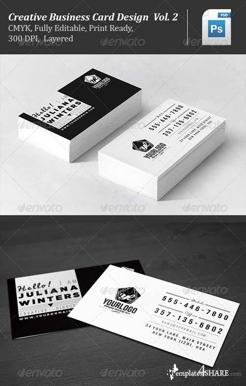 GraphicRiver Creative Business Card Design Vol.2