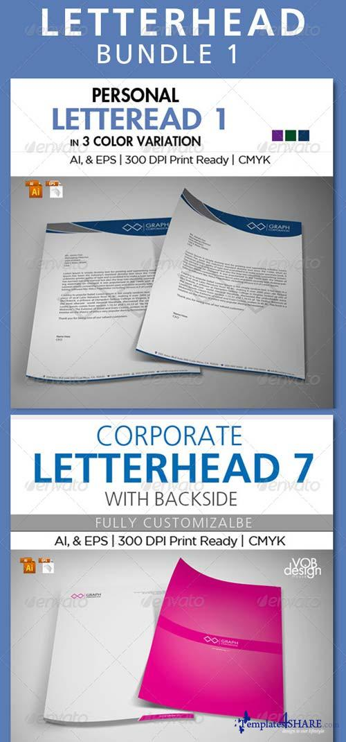 GraphicRiver Letterhead Bundle 1