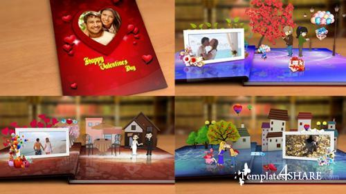 Happy Valentine's Day - After Effects Project (Videohive)