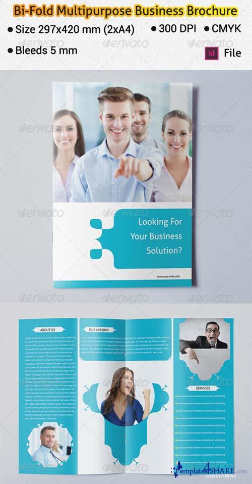 GraphicRiver Bi-fold Multipurpose Business Brochure