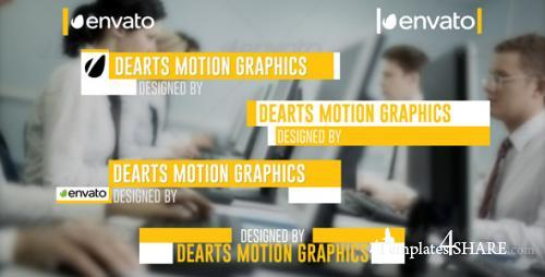 Modern Lower Third - After Effects Project (Videohive)