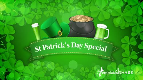 St Patrick's Day Special Promo - After Effects Project (Videohive)