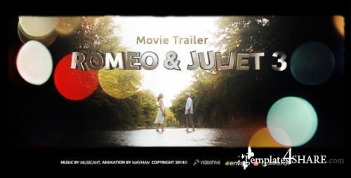 Romeo & Juliet 3 (Movie Trailer) - After Effects Project (Videohive)