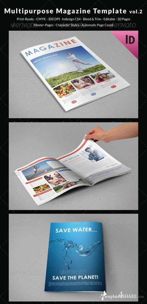 GraphicRiver Multipurpose Magazine Template vol.2
