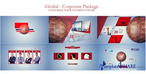 Global Network-Corporate Video Package - After Effects Project (Videohive)
