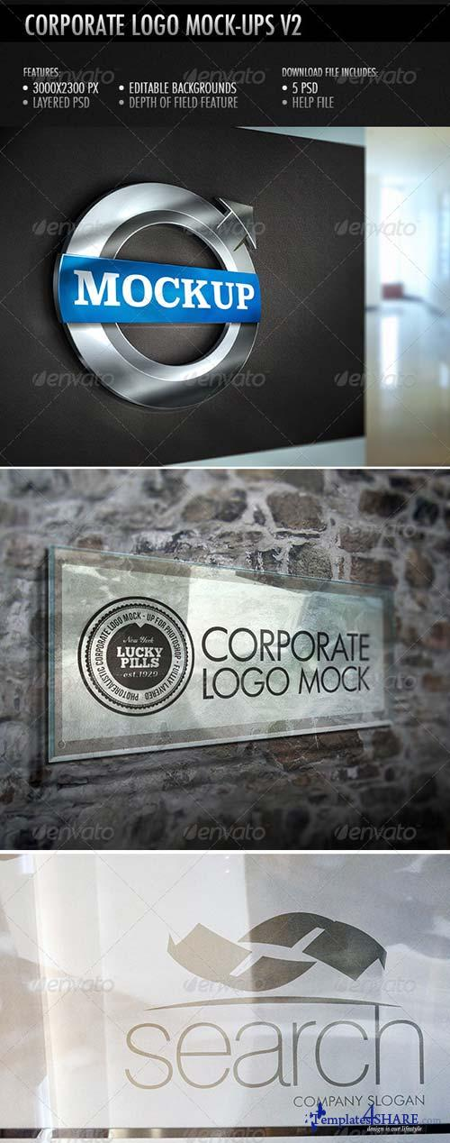 GraphicRiver Corporate Logo Mockup V2