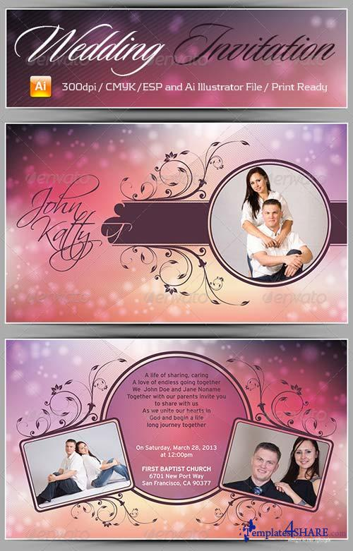 GraphicRiver Wedding Card Vol2