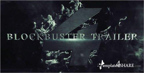 Blockbuster Trailer 4 - After Effects Project (Videohive)