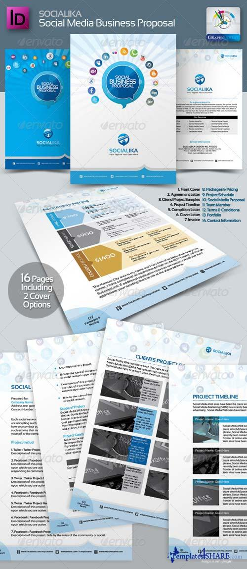 GraphicRiver Socialika Social Media Business Proposal