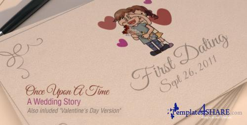 Once Upon A Time - A Wedding Story - After Effects Project (Videohive)