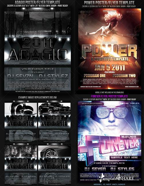 GraphicRiver Power Flyer Bundle