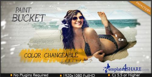 Paint Bucket - After Effects Project (Videohive)