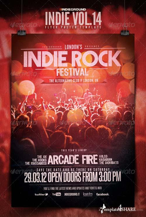 GraphicRiver Indie Flyer/Poster Vol. 14