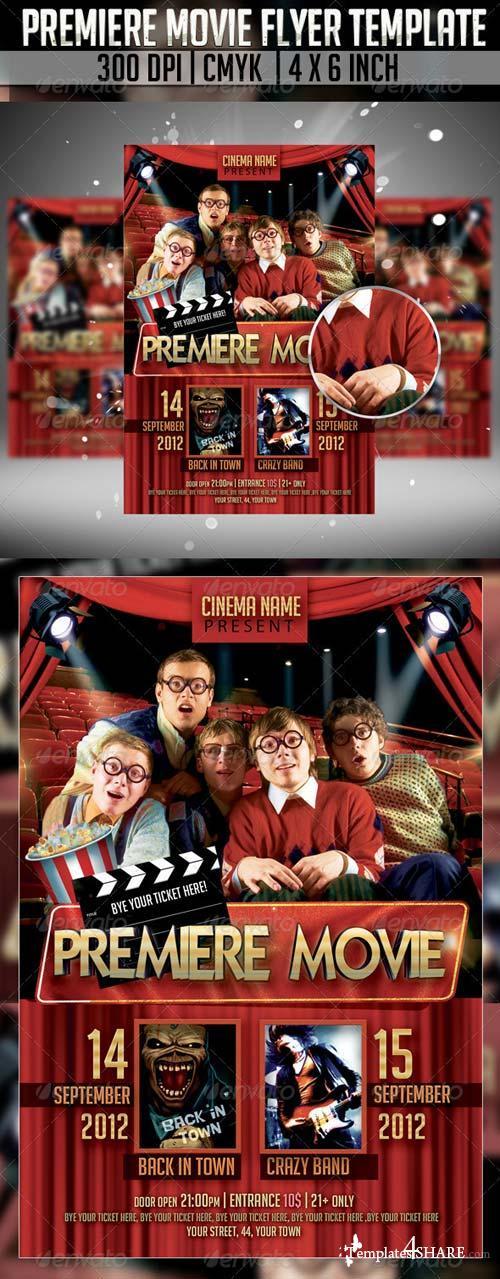 GraphicRiver Premiere Movie Flyer Template