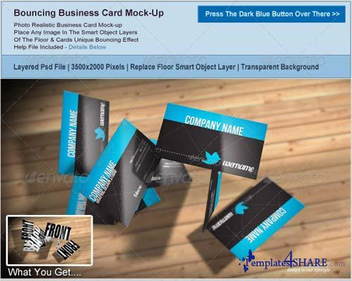 GraphicRiver Business Card Mockup 3669469