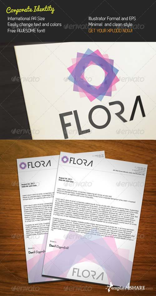 GraphicRiver Flora Stationery