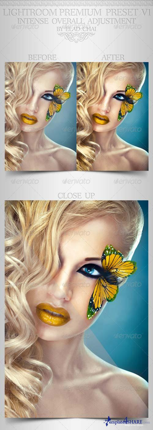 GraphicRiver Perfect Model Lightroom Preset V1