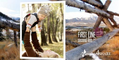 Rustic Outdoor Photo Gallery - After Effects Project (Videohive)
