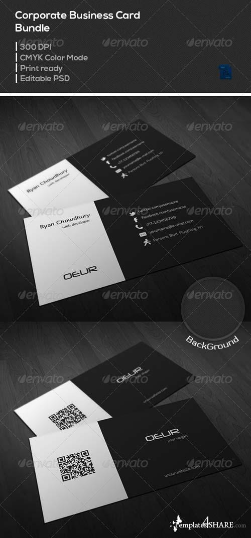 GraphicRiver Corporate Business Card Bundle - 03