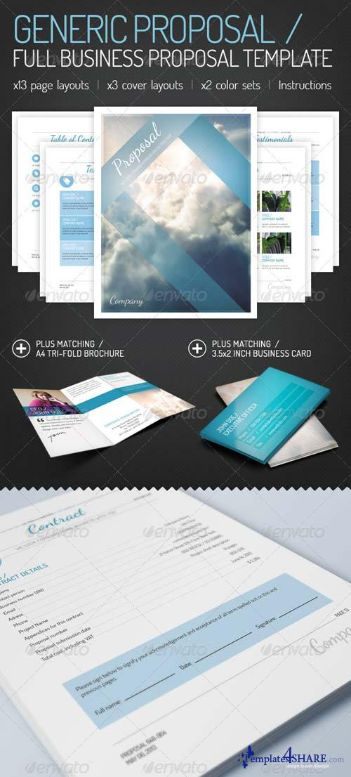 GraphicRiver Generic Proposal - Full Business Proposal Template