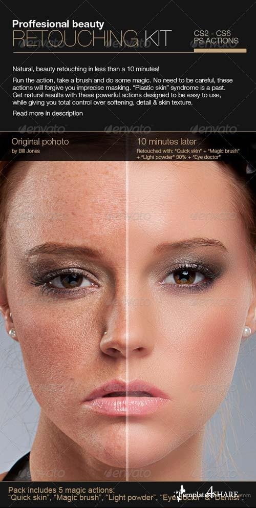 GraphicRiver Professional Retouching Actions Kit