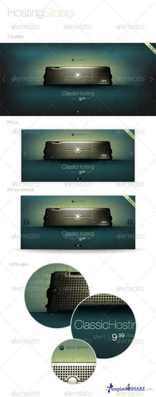 GraphicRiver Hosting Slider
