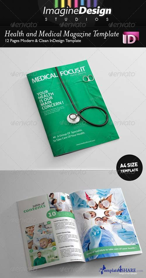 GraphicRiver Health and Medical Magazine Template