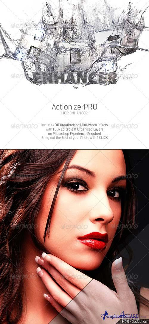 GraphicRiver ActionizerPRO - HDR Enhancer Pack 2.0