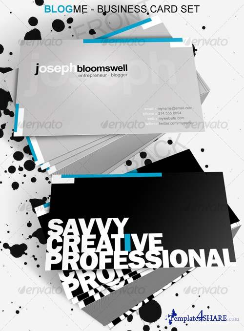 GraphicRiver Blog Me Business Card