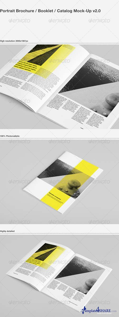 GraphicRiver Brochure / Booklet / Catalog Mock-Up