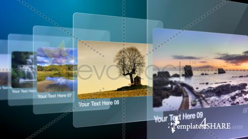 Glass Slides - After Effects Project (RevoStock)