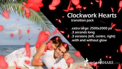 Clockwork Hearts - After Effects Motion Graphics (Videohive)