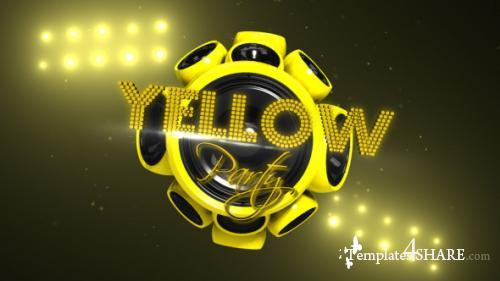 Yellow Party - After Effects Project (Videohive)