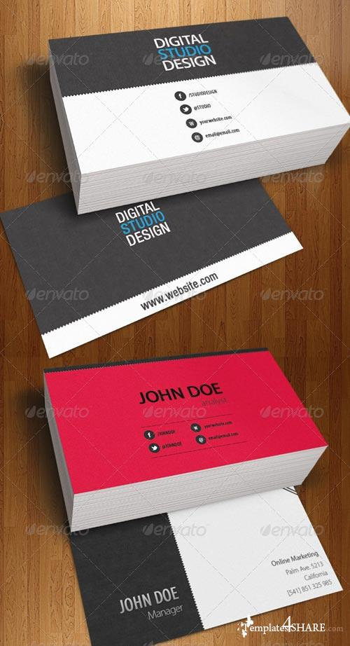 GraphicRiver Professional Business Card Corporative Design