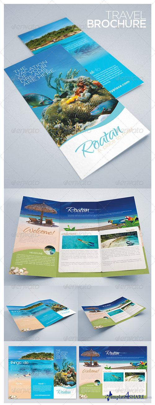 GraphicRiver Travel and Tourism Brochure - Caribbean Beach