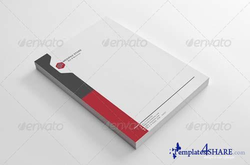 GraphicRiver Simple Medipak Letterhead Design