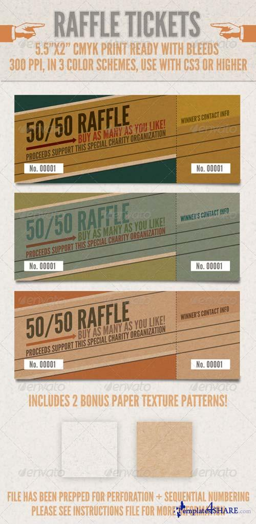 GraphicRiver Raffle Tickets
