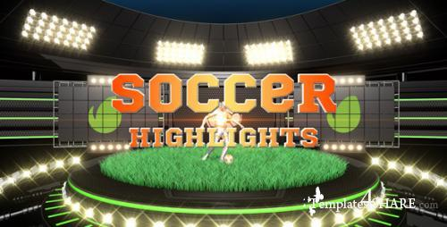 Soccer Highlights Ident Broadcast Pack - After Effects Project (Videohive)
