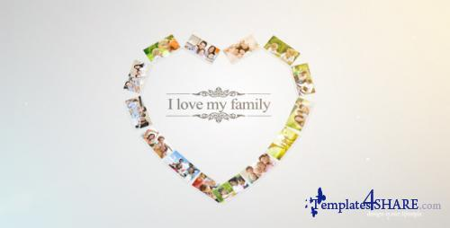 Photo Family Gallery - After Effects Project (Videohive)