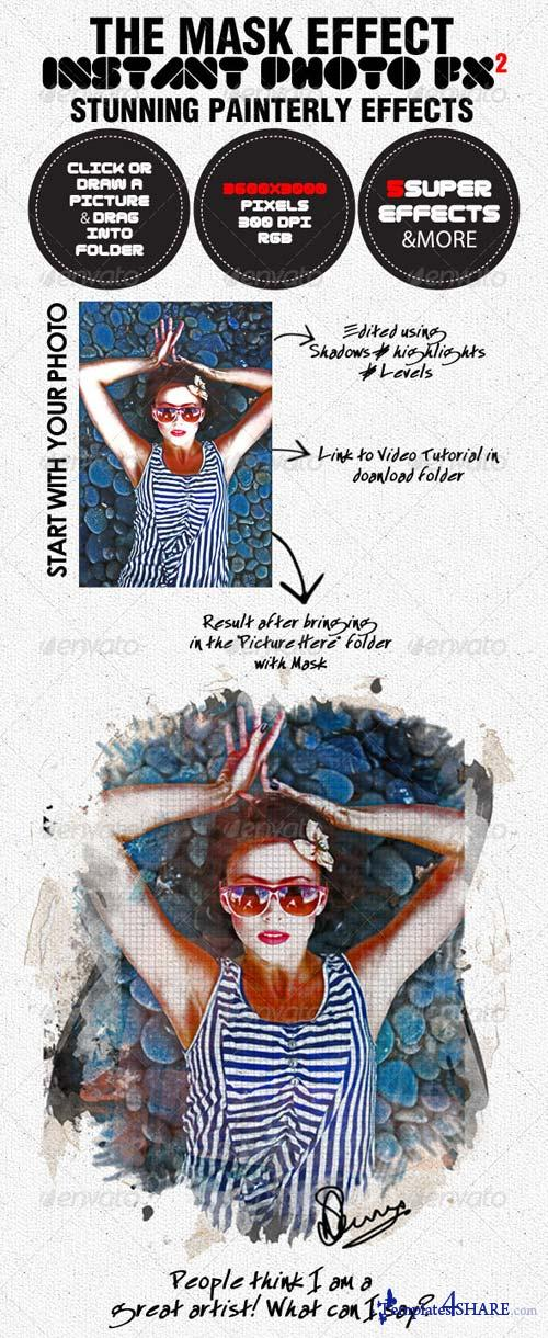 GraphicRiver Photo-Fx-Auto Mask#2 - Stunning Photo Effects