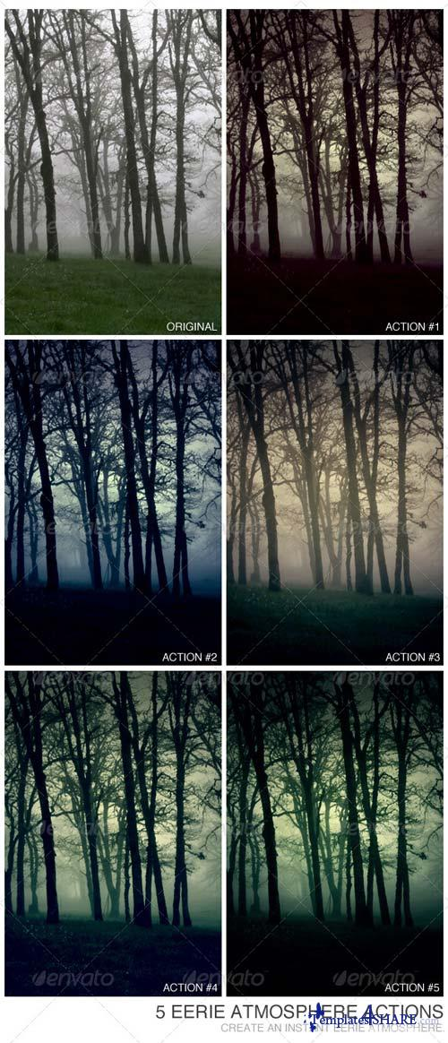 GraphicRiver 5 Eerie Atmosphere Actions