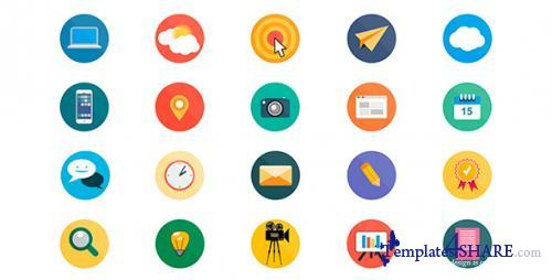 20 Animated Icons - After Effects Project (Videohive)