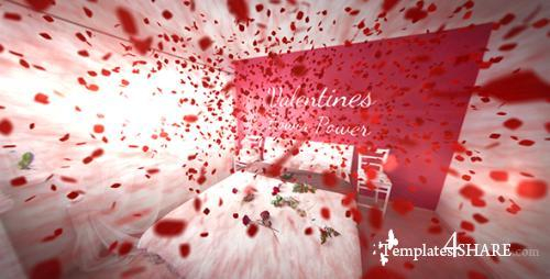 Valentines Flower Power - After Effects Project (Videohive)