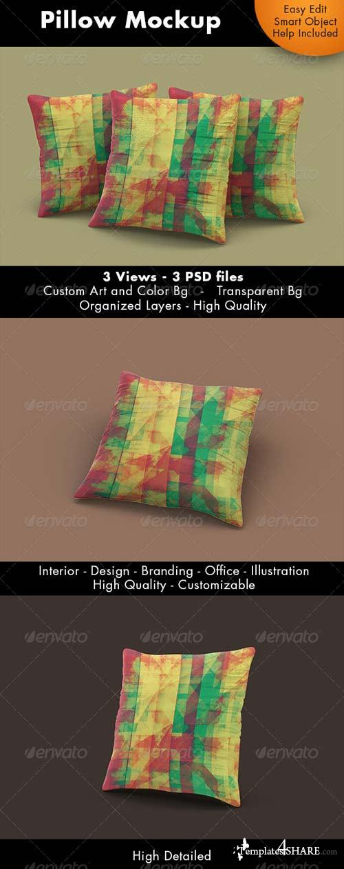 GraphicRiver Pillow Mockup